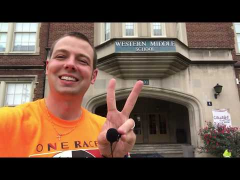 Mr. Peace Visits Western Middle School for the Arts in Louisville, Kentucky