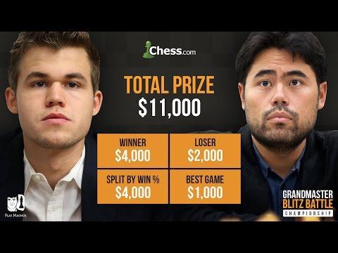 Magnus Carlsen vs Hikaru Nakamura: Blitz Chess Battle Final