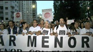 Unas 55.000 personas piden en Cartagena la recuperación del Mar Menor