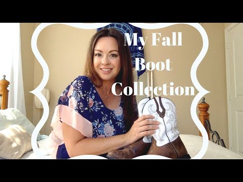 My Fall Boot Collection