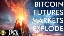 Bitcoin Futures See Record Volume & Price News Lures Retail Investors Back to Crypto Markets