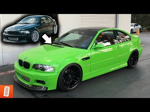 Boosted BMW E46 M3 Gets EXTREME MAKEOVER!!