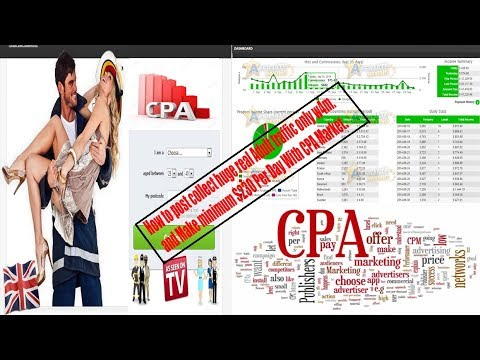 How to post w4m & collect huge real Adult traffic. and Make minimum $230 Per Day With CPA Market.