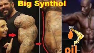 Rich Piana e synthol no bodybuilding profissional