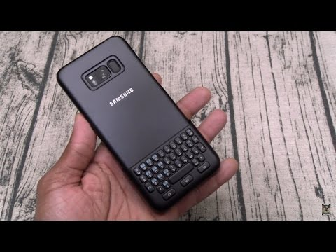 Samsung Galaxy S8 And S8 Plus Keyboard Cover