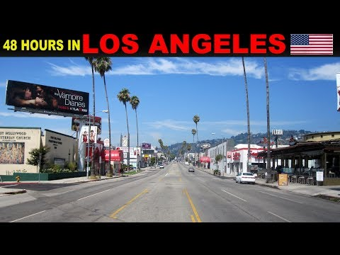A Tourist's Guide to Los Angeles, USA