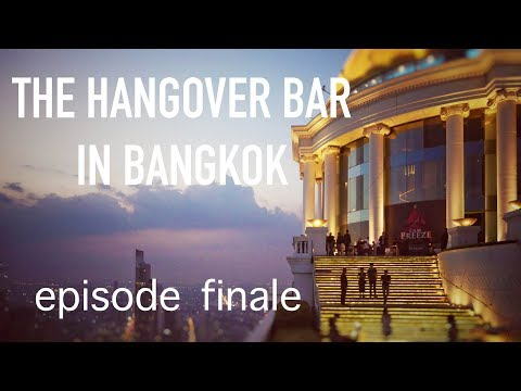 The Hangover sky bar in Bangkok | walking streets | ep 10 finale