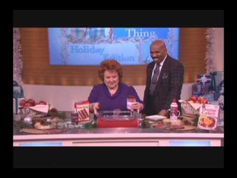 Dump Cakes Recipe on the Steve Harvey Show YouTube
