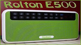Rolton e500 - демонстрация работы и краткий обзор колонки
