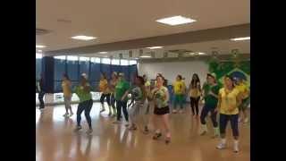 ACM Alphaville aula ritmos brasileiros prévia Copa 2014 11/06