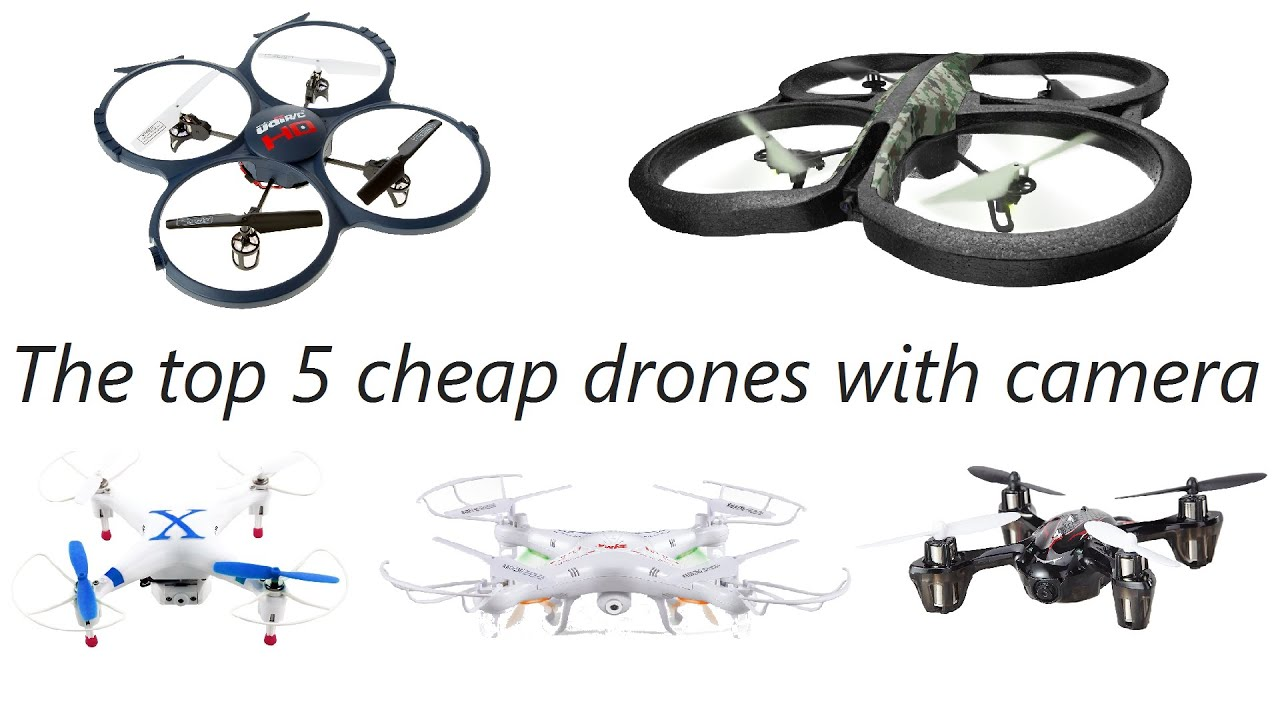 Top 5 Best Drones With Camera You Can Buy Under 100 2017