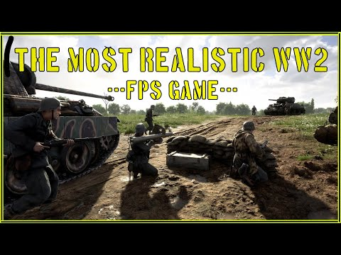 THE MOST REALISTIC WORLD WAR 2 FPS IN 2021 (Hell Let Loose) |