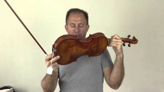 Ming Jiang Zhu G905A vs G907A Violin Comparison for Dustin