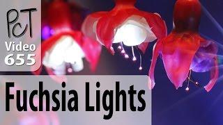 Polymer Clay Fuchsia Flower Fairy (LED) Lights Tutorial (Intro)