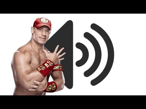 AND HIS NAME IS JOHN CENA Sound Effect
