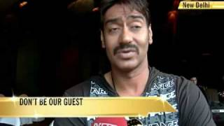 Never face uninvited guests in real life: Ajay Devgn