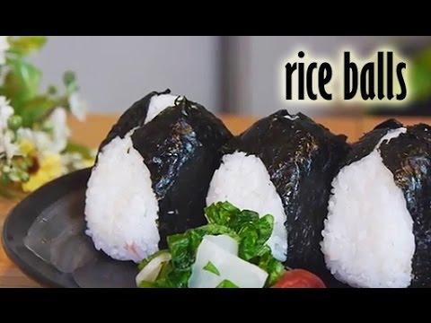 How To Make Onigiri (Japanese Rice Balls) RECIPE - おにぎりの作り方
