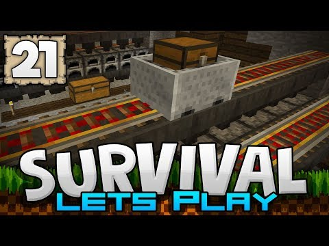 EPIC AUTO SMELTING MACHINE!!! - Survival Let's Play Ep. 21 - Minecraft 1.2 (PE W10 XB1)