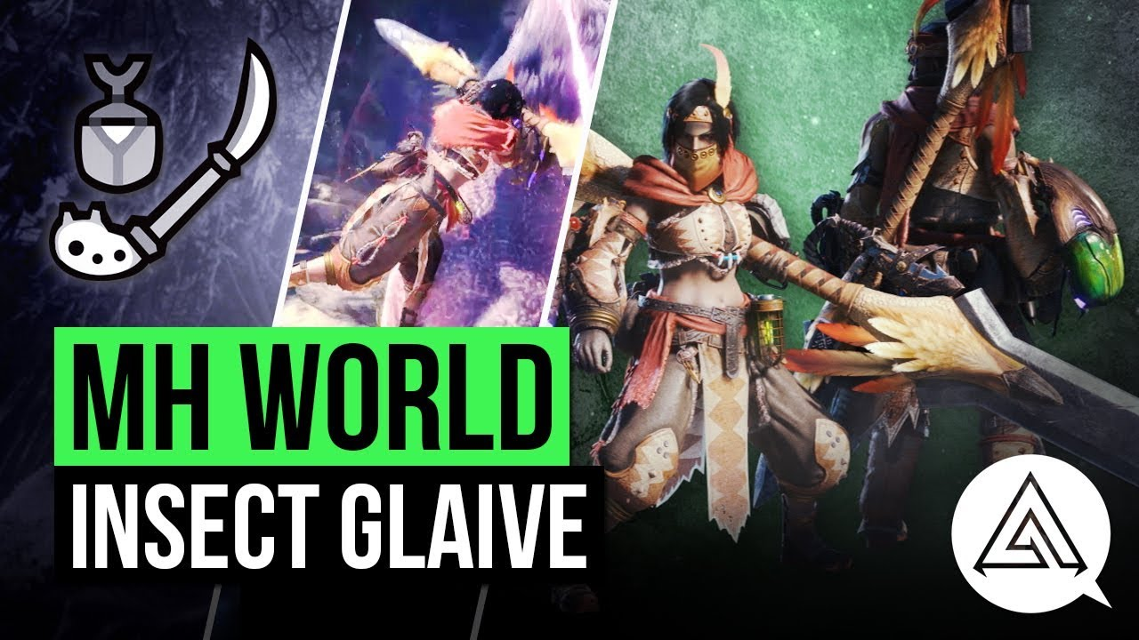 Monster Hunter World's Insect Glaive: Best Insect Glaive build