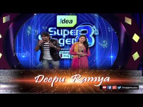 Super Singer 8 Episode - 3 II Deepu & Ramya Performance