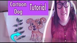 Bir Karikatür Köpek Çizmek için Nasıl Karikatürler Çizmek için öğrenin: