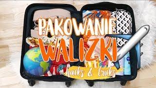 PAKOWANIE WALIZKI - HACKS & TRICKS | Sylwia Lipka