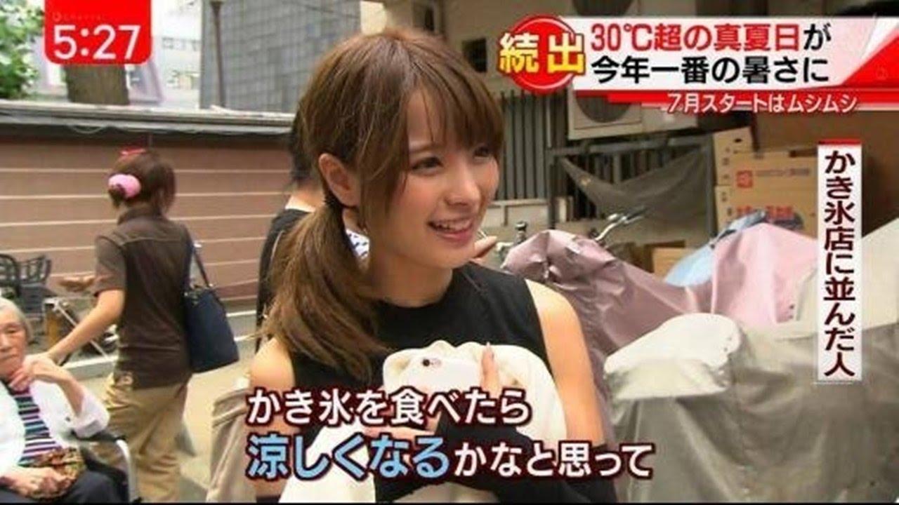 【放送事故】めっちゃ可愛い!有名〇〇女優が報道番組で偶然インタビューされる!