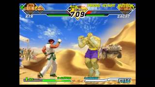 Capcom vs SNK 2 - Ratio Match - Kim & Ken