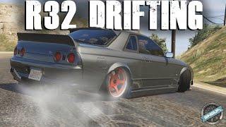 Nissan Skyline GT-R R32 - Drifting & Customization! || GTA 5 MODS
