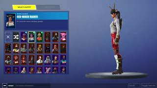 Fortnite Nog Ops,Red Nose Raider Account for sale or trade