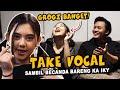 BERCANDA BARENG KA RIZKY FEBIAN SELAMA TAKE VOCAL! - PROSES RECORDING 'TERLUKIS INDAH'