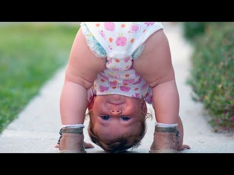 Silly YOGA BABIES are SO FUNNY it's simply IMPOSSIBLE NOT TO LAUGH! - Cute KIDS Compilation