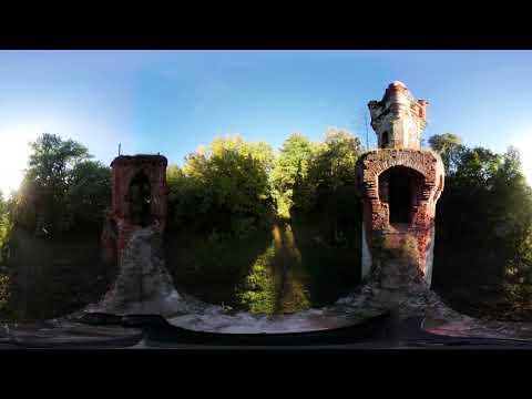 Красные ворота - Кирицы снятые на камеру 360 градусов.