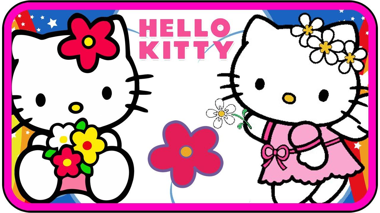 Hello Kitty cartoon Nursery Rhymes Twinkle Twinkle Little ...