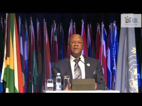 United Nations World Data Forum: Openning Speech by Minister Jeff Radebe