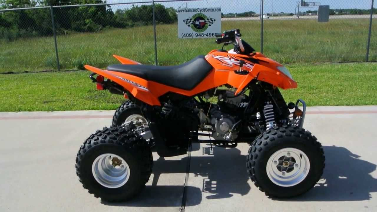 Atv four wheelers