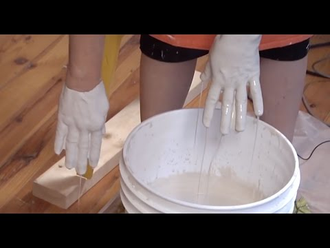 Pottery Video - How to Flocculate a Ceramic Glaze for Better Coverage - LINDA ARBUCKLE