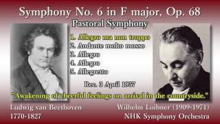 Beethoven: Symphony No. 6, Loibner & NHKso (1957) ベートーヴェン 交響曲第6番 ロイブナー