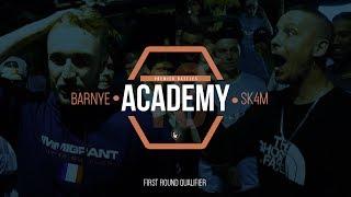 Barnye Vs SK4M | Academy18 | Rap Battle