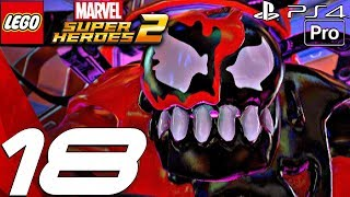 LEGO Marvel Super Heroes 2 - Gameplay Walkthrough PART 18 - Carnom Boss Fight (PS4 PRO)