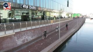 Delft bicycle parking facility