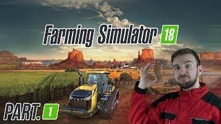 MOBILNÍ FARMAŘENÍ | Farming Simulator 18 #01