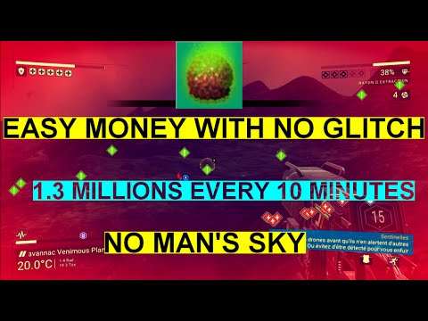 1.3 millions units every 10 minutes WITHOUT GLITCH - No Man's Sky PS4