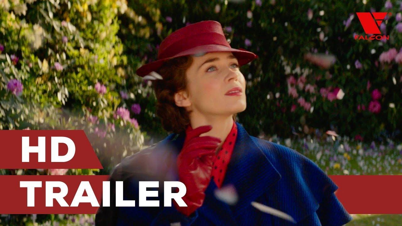 Mary Poppins se vrací (2018) HD trailer   CZ titulky
