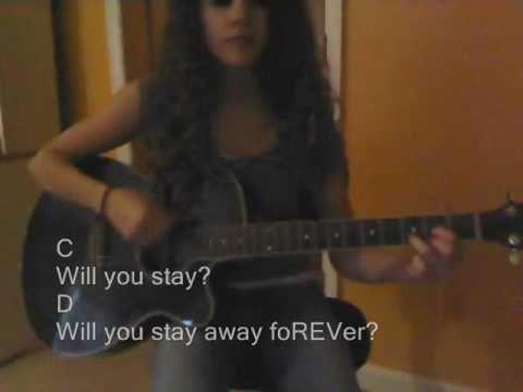 So Far Away (Avenged Sevenfold) Guitar Cover + Guitar Chords - YouTube