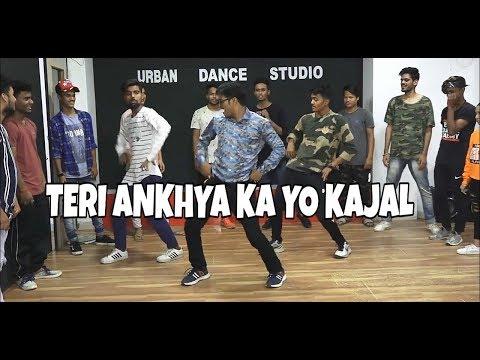 Teri Ankhya Ka Yo Kajal | Dance | Shyam Pandey | Choreography By Rishabh Pokhriyal@