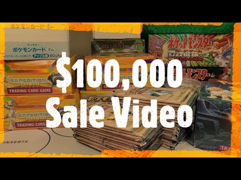 $100,000 Pokemon Sale Video