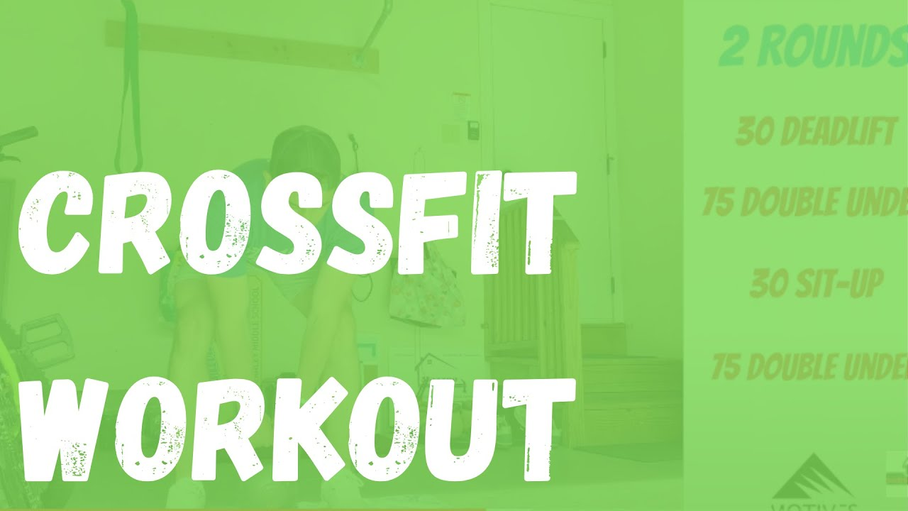 CrossFit Workout | Deadlift | Jump Rope | Sit-up
