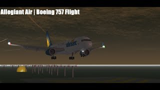 ROBLOX | Allegiant Air | Vol de Boeing 757