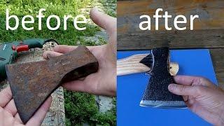 Gambar cover Восстановление топора. How to Restore an Axe.